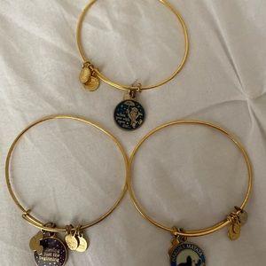 Alex and Ani Disney Park Exclusive Bracelets